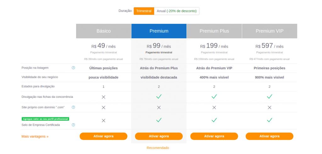 Conheça as opções de planos da Plataforma Habitissimo, formas de pagamento e vantagens